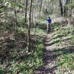 A healthy community with lots of opportunities for outdoor recreation. A bike friendly community with mountain biking trails.